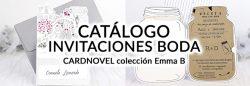 catalogo invitacionesboda cardnovel emma b