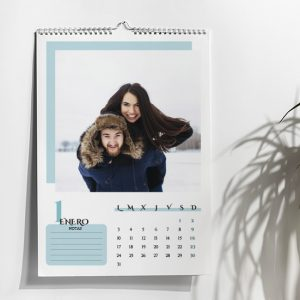 calendario espiral personalizado